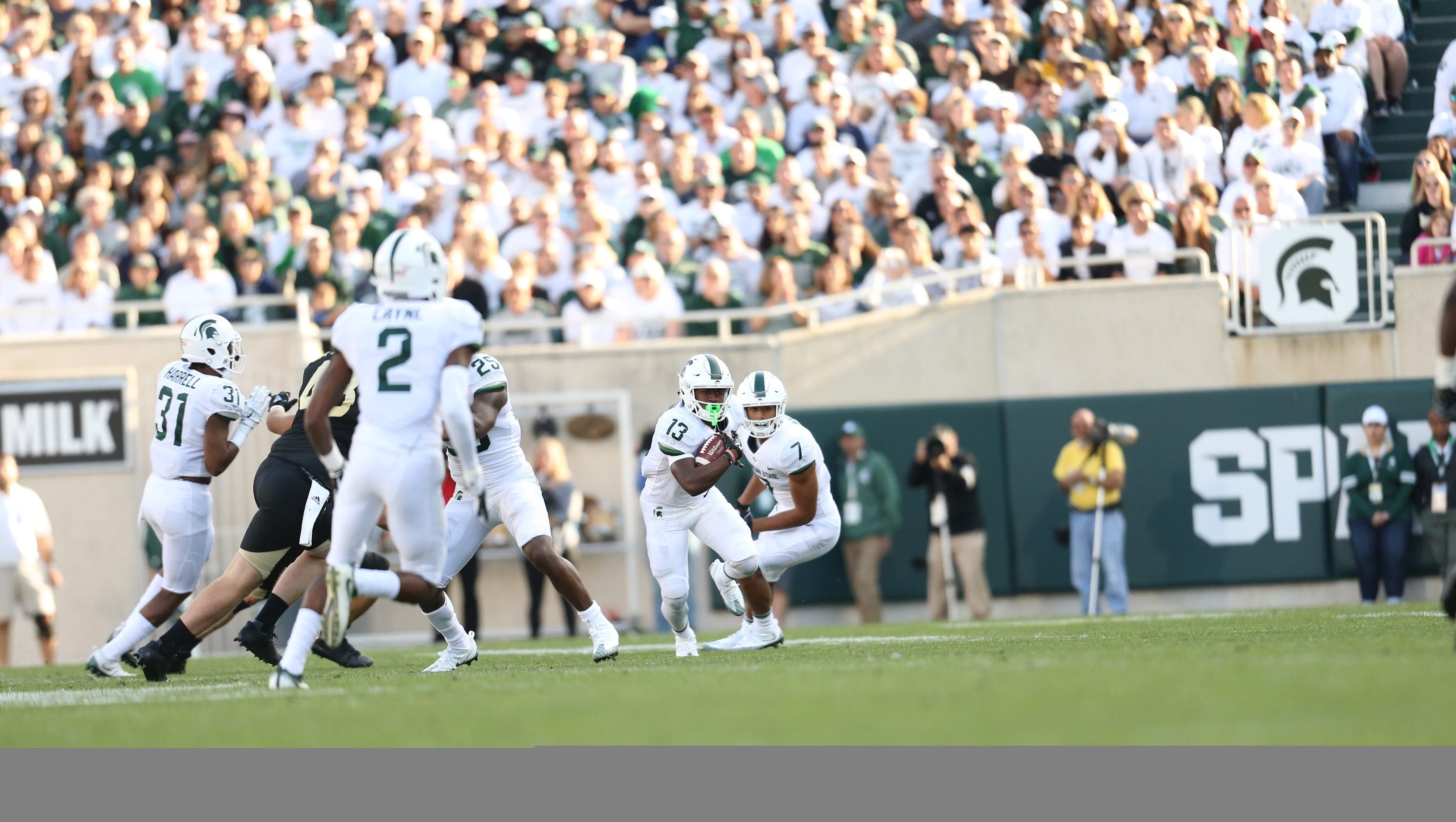Man Cave Fort Nelson : Michigan state's laress nelson making most of new opportunity