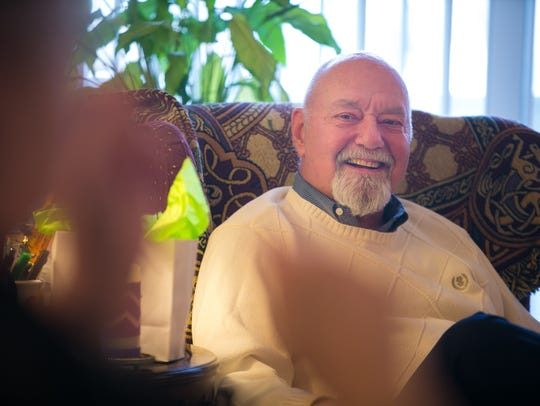 Pastor David Mueller served for 30 years at Concordia