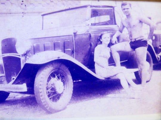 A photo of Joseph and Irene Buffamento of Nanuet taken