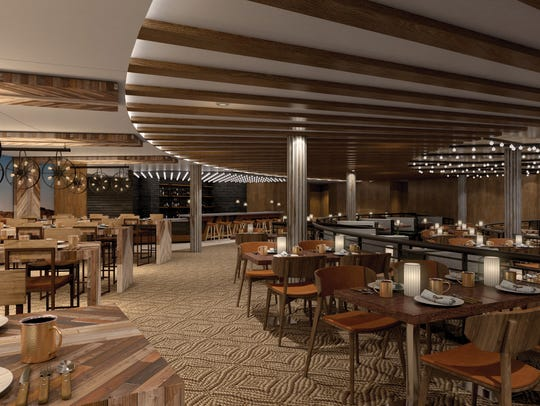 Norwegian Bliss will feature an upscale barbecue eatery