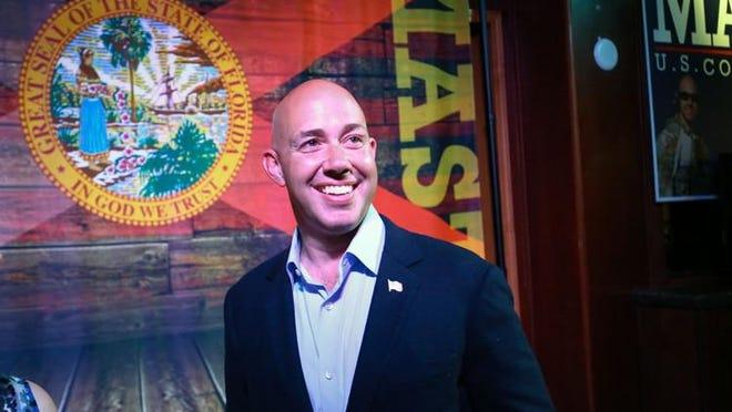 U.S. Rep. Brian Mast, R-Palm City