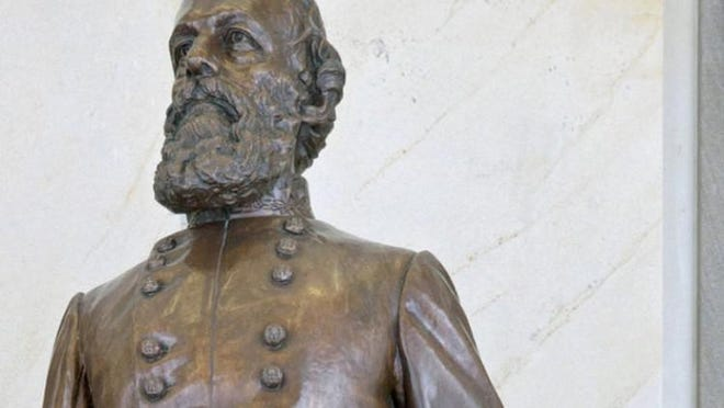 Statue of Confederate Gen. Edmund Kirby Smith in the National Statuary Hall Collection in the U.S. Capitol.
