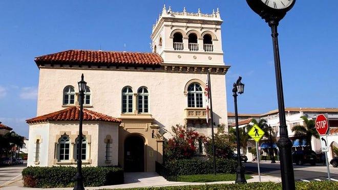 Palm Beach Town Hall.