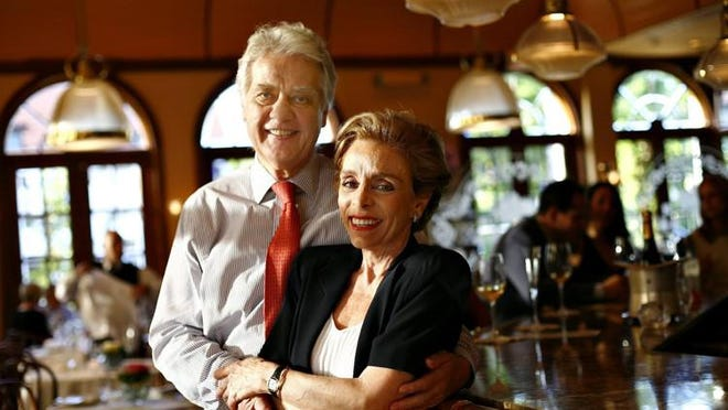 Norbert and Lidia Goldner, the owners of Cafe L?Europe, are shown in a 2009 photo.