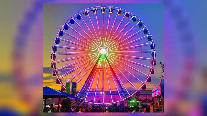 The Midway Sky Eye, North America?s largest traveling Ferris wheel, comes to the South Florida Fair this year.