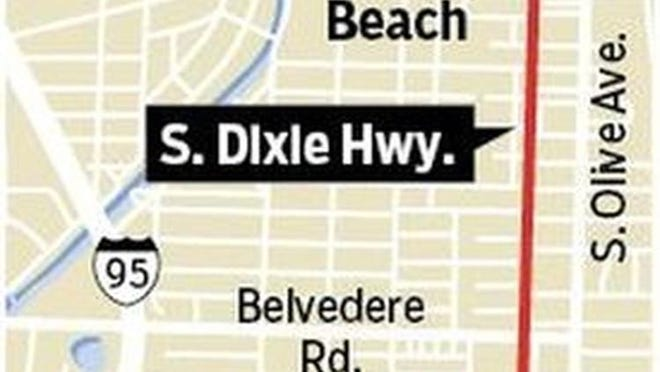 A coalition of residents and merchants has been pressing for three years to make a stretch of South Dixie Highway just south of downtown West Palm Beach work better for commerce and community.