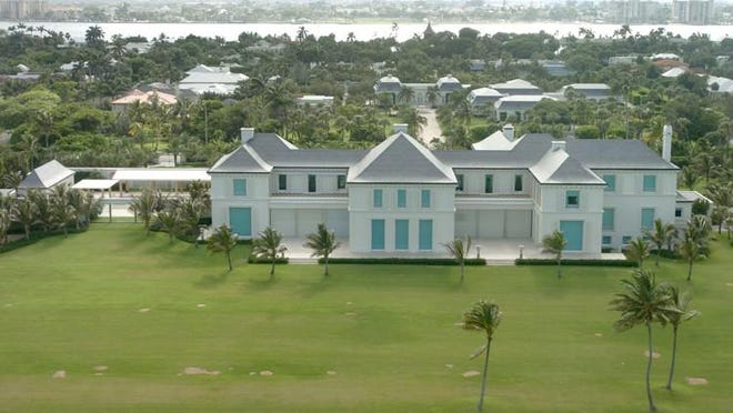 At 548 N. County Road, Nelson and Claudia Peltz?s Montsorrel comprises more than 13 acres with three separately taxed properties on either side of the coastal road. The 2016 tax bill is $1.88 million.