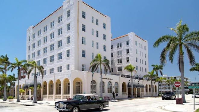 The Gulfstream Hotel project is a 106-room downtown Lake Worth hotel, built in 1925. It has been closed since 2005, but a husband-and-wife team of developers from St. Louis wants to buy it and renovate it.