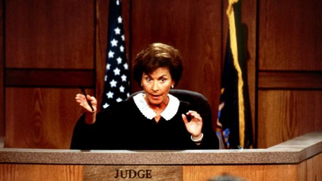 Judge Judy. A good representative for Women's History Month?