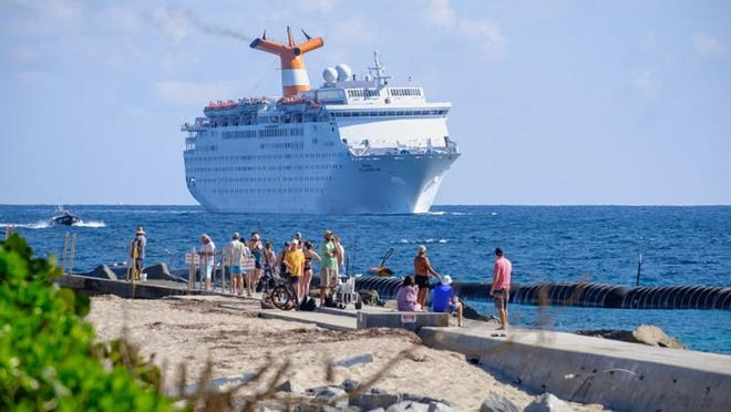 The Grand Celebration cruise ship.