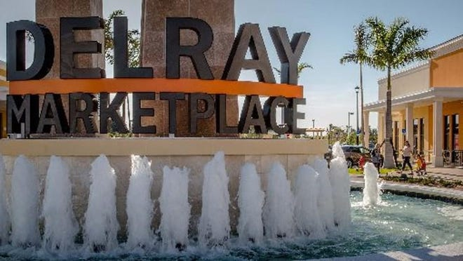 Delray Marketplace. Photo by Thomas Cordy/The Palm Beach Post.