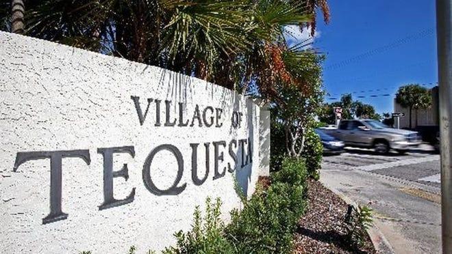 Tequesta's village council met Monday via Zoom video chatting service.