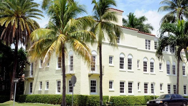 A hotel in Palm Beach