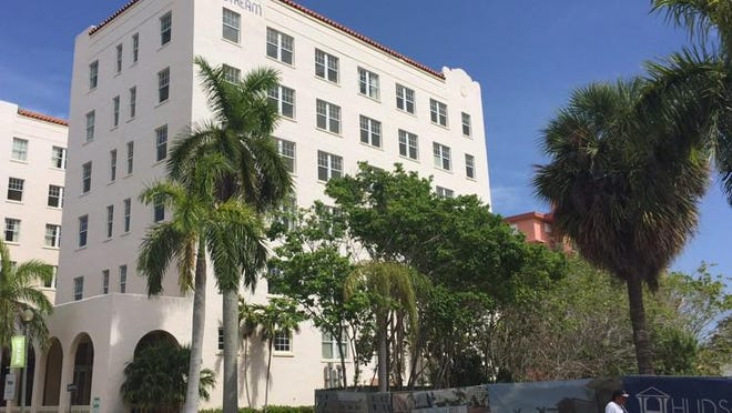 The Gulfstream Hotel in Lake Worth Beach has not opened its doors since 2005.