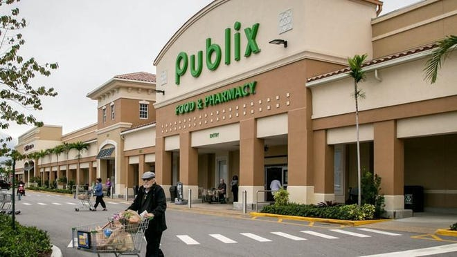 Publix at 133 N. Congress in Boynton Beach. The supermarket chain announced an initiative to help farmers, feed those in need during pandemic.
