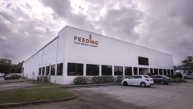 Exterior of Feeding South Florida's  25,644-square-foot facility that opened in January  2017. Damon Higgins / The Palm Beach Post