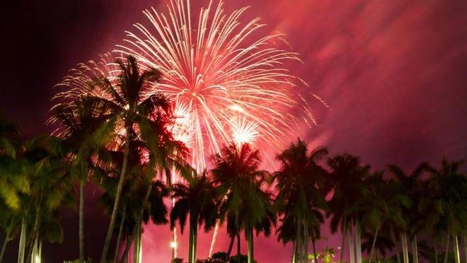 Fourth on Flagler fireworks.