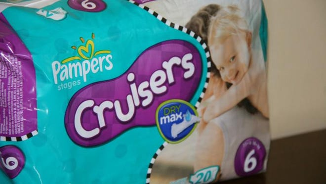 A package of Pampers Cruisers is seen in Alexandria, Va., Thursday, May 6, 2010.