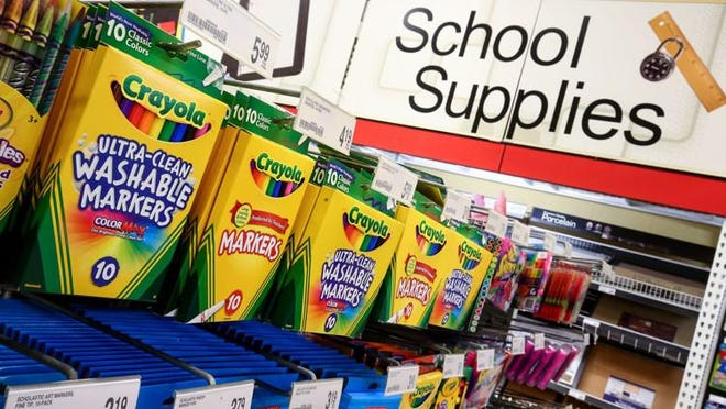 Ohio's sales tax holiday begins Aug. 7. Itwaives the sales and use taxes on many traditional back-to-school supplies.