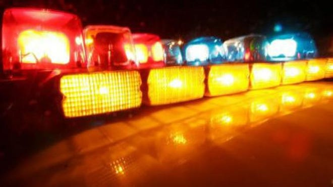 A Lancaster man died early Tuesday when his vehicle veered of a Fairfield County road and overturned.