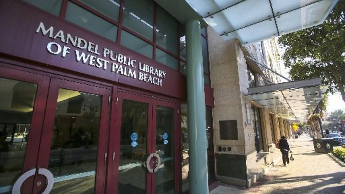 Letters: Mandel library an asset to West Palm Beach