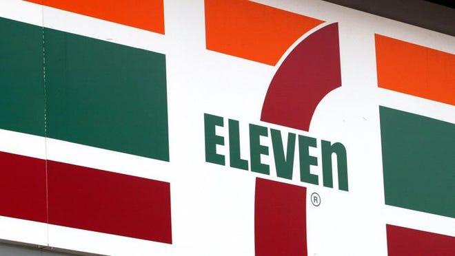 A 7-Eleven store logo.