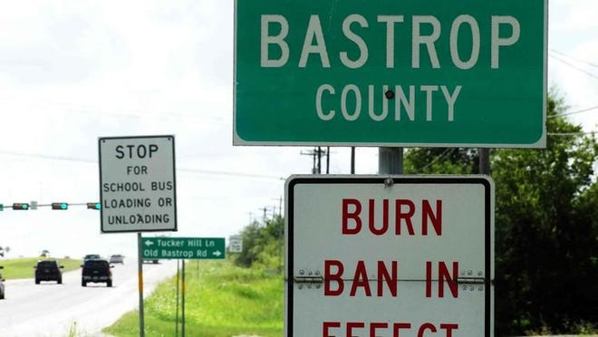 A burn ban has been implemented in Bastrop County. MARY HUBER/BASTROP ADVERTISER