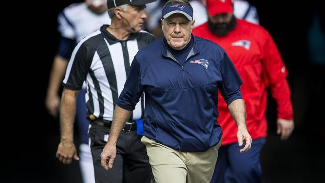 Bill Belichick and the Patriots have been penalized by the NFL.