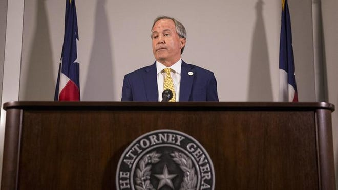 Texas Attorney General Ken Paxton on July 28 said that local health authorities can't force schools to shut down.