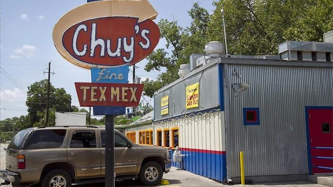 Chuy's curbside and delivery sales remain more than double what they were pre-coronavirus and accounted for 35% to 40% of all revenue in June and July, the Austin-based Tex-Mex chain said.