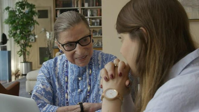 The documentay ?RBG? centers on 84-year-old Supreme Court Justice Ruth Bader Ginsburg and is directed by Betsy West and Julie Cohen. Contributed by Magnolia Pictures