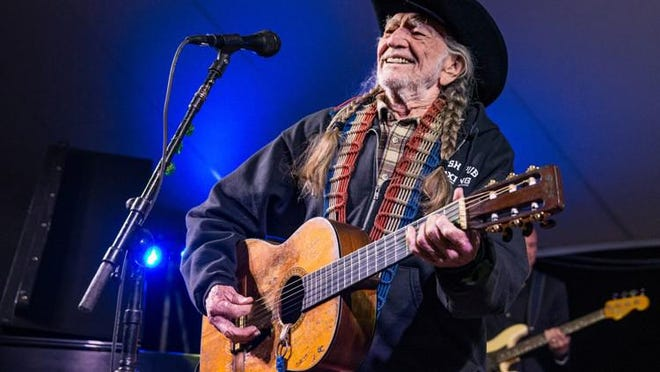 Willie Nelson will take part in the first-ever virtual Farm Aid event on Saturday, Sept. 26.