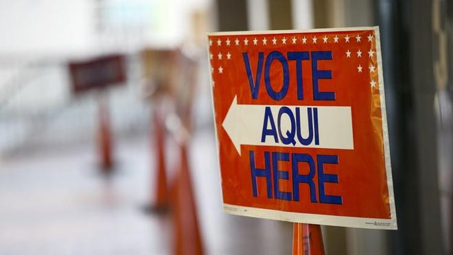 Early voting begins  Oct. 13 for the Nov. 3 election.