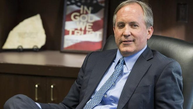 Texas Attorney General Ken Paxton, shown at his agency's headquarters in Austin in 2018, is facing new trouble on the legal front.