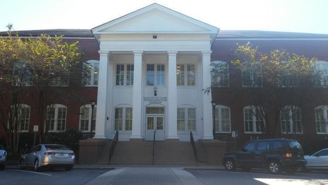 The Marvin-Pittman building on the Georgia Southern University campus in Statesboro.