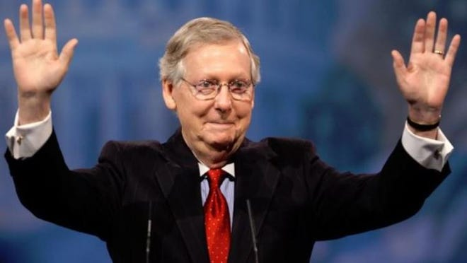 A Vox caller has a question for Senate Majority Leader Mitch McConnell.