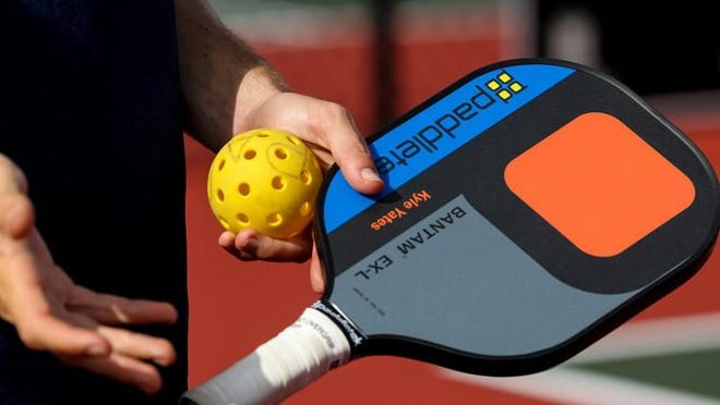 Pickleball is a growing sport, often described as a mix between tennis, racquetball and ping pong.