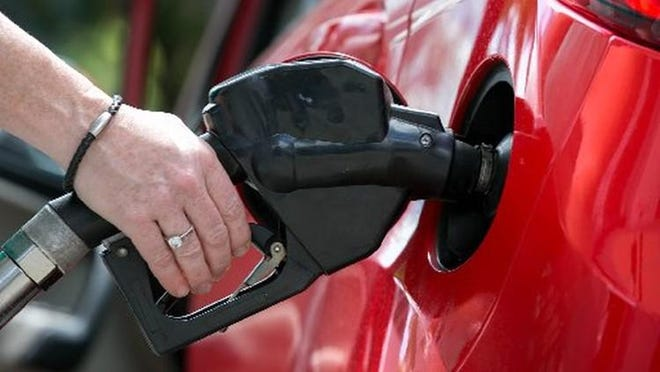 Gas prices in Michigan dropped 3.9 cents to an average of $2.12 per gallon on Monday, July 6.