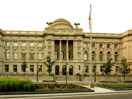 Milwaukee's Central Library is a grand building and chief repository of 12-branch system across the community.
