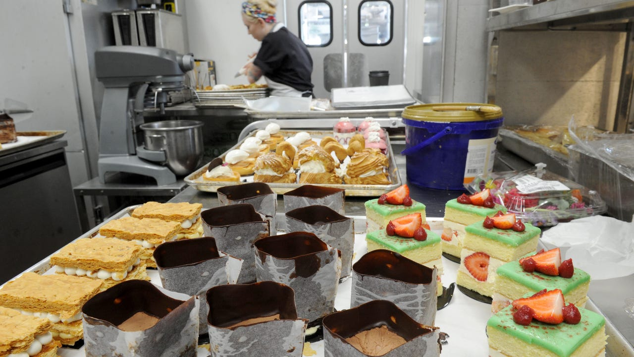 See how the treats are created at Cafe Ficelle in Ventura.