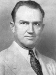 A 1930s photo of Seacoast Bank founder Dennis S. Hudson