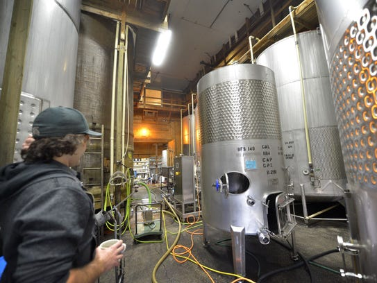 Fenn Valley produces about 50,000 cases of wine a year.