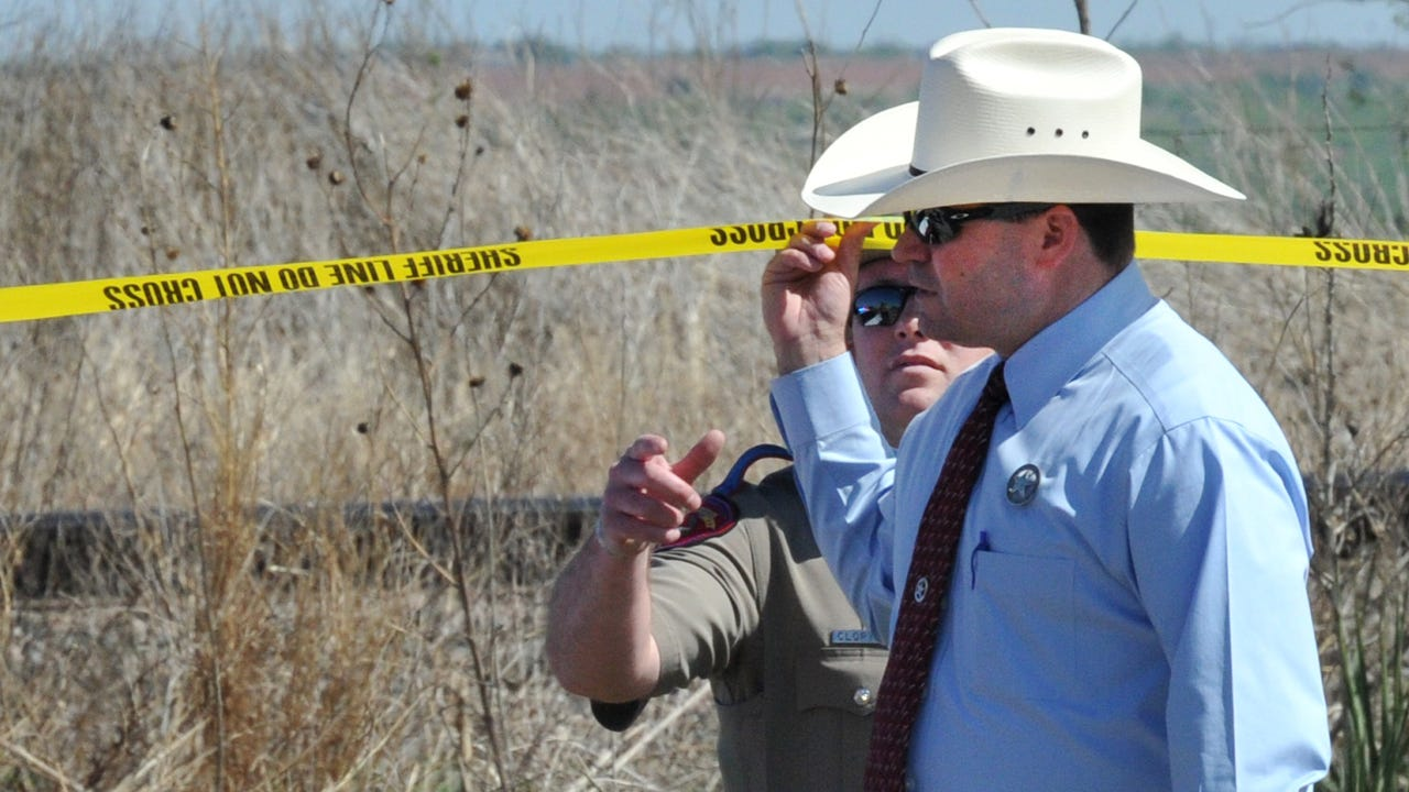A suspect is dead following an officer-involved shooting after he stabbed a woman who he is believed to have kidnapped, Wichita County Sheriff David Duke confirmed Thursday.