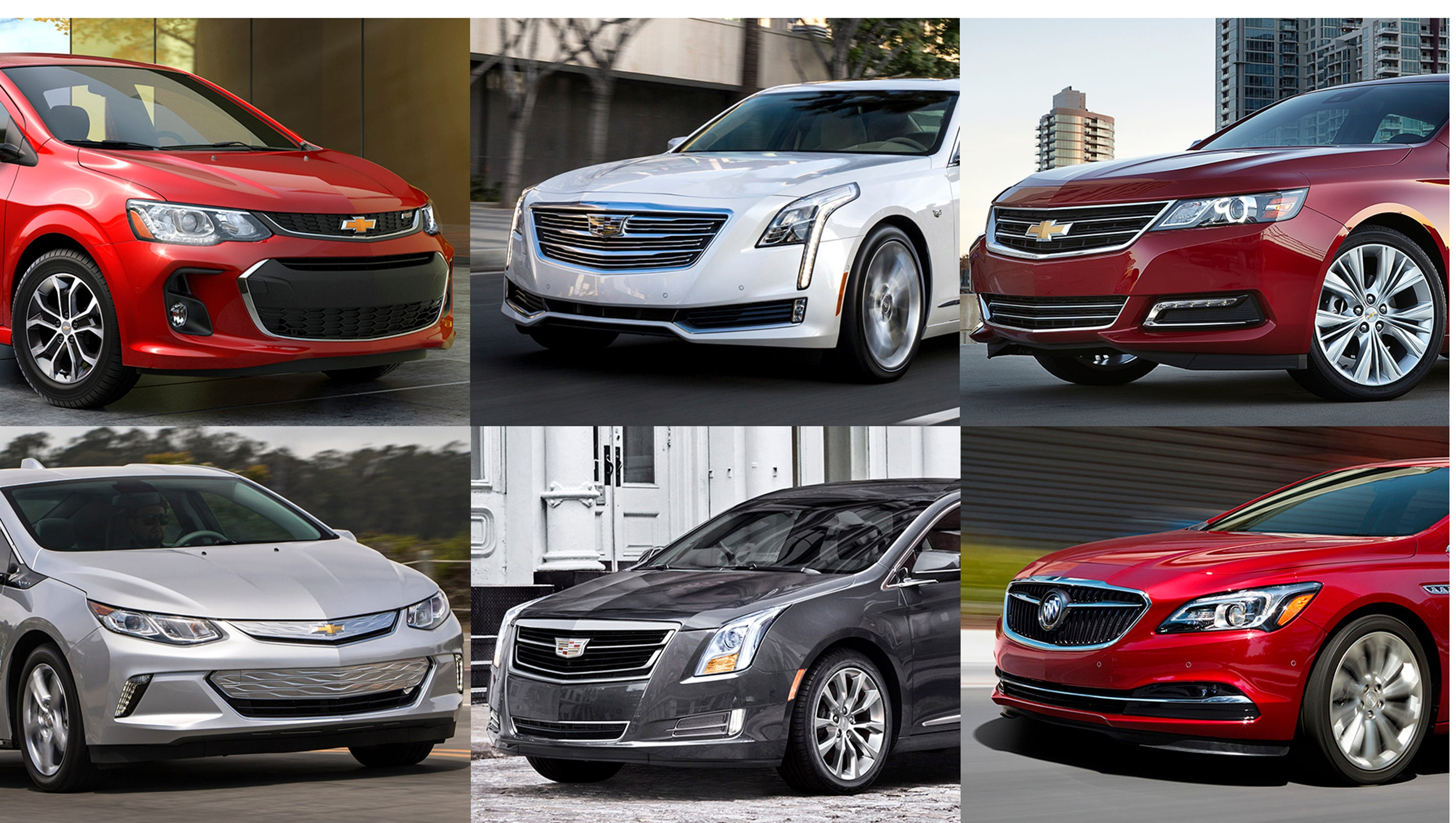 GM weighs cutting six cars from its lineup