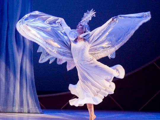 "The Center Dance Ensemble's production of ""Snow Queen."""