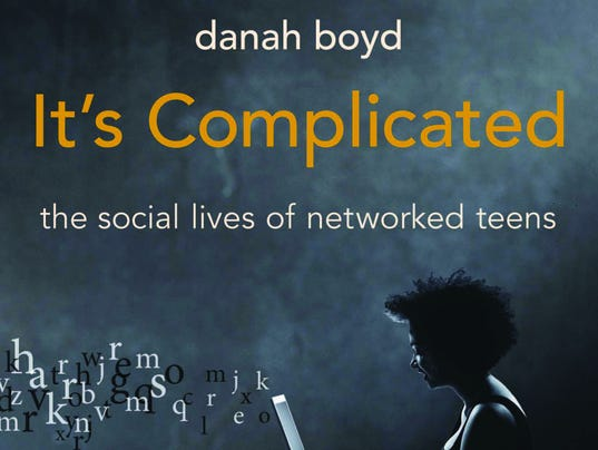 "Book Jacket for Boyd's ""It's Complicated"""