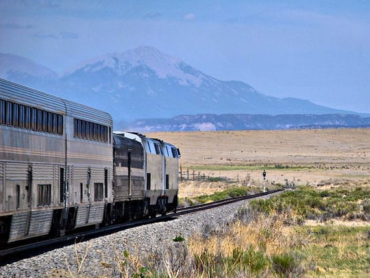 Amtrak's Southwest Chief links Chicago to Los Angeles and passes through eight states.