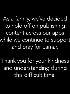 The Kardashian-Jenners' statement.
