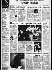 Battle Creek Sports History: Week of Dec. 15, 1996