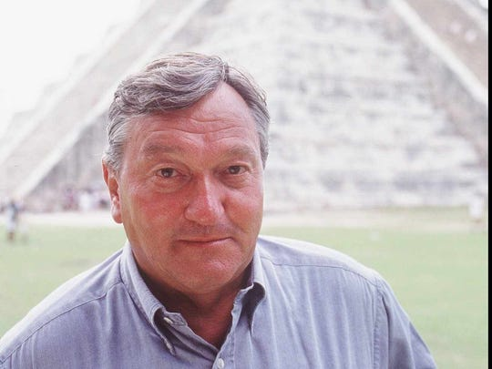 Erich Von Daniken (shown here) popularized theories